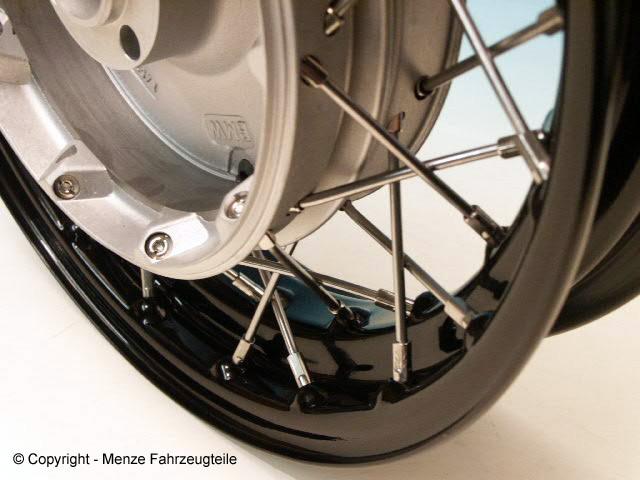 Speichenrad für Motorrad Gespann