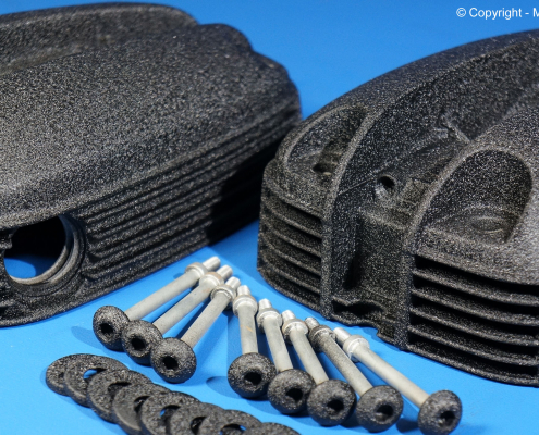 BMW Ventildeckel pulverbeschichten