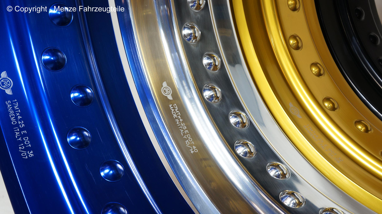 Aluminium Felgenringe für Motorrad Speichenräder