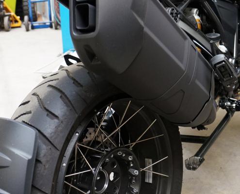 BMW Auspuff mit Keramikbeschichtung