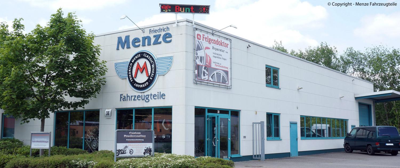 Firmensitz des Unternehmens Menze Fahrzeugteile