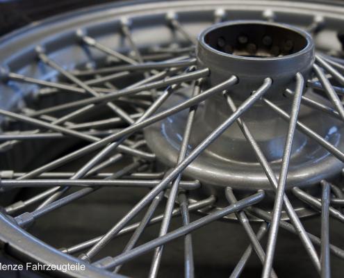 Automobil Speichenfelgen mit Komplettbeschichtung