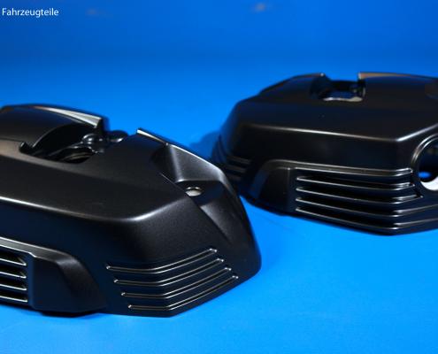 BMW R9T Ventildeckel pulverbeschichten