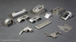 Gun coating of small shotgun parts