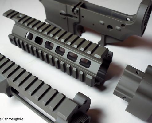 AR15 Upper, Lower und Handguard beschichten