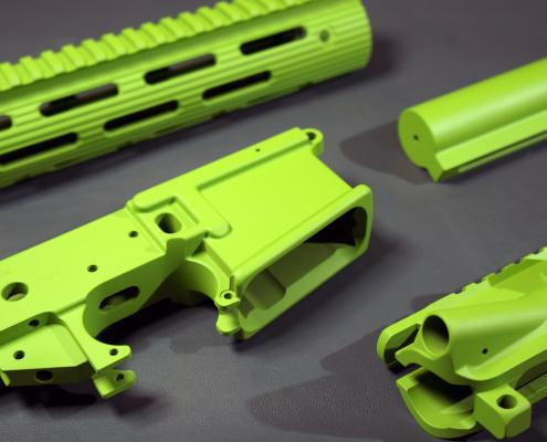 AR15 in Zombie Green beschichten
