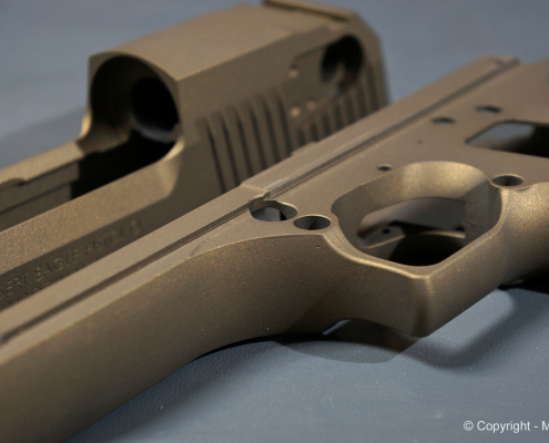 Desert Eagle in Burnt Bronze beschichten