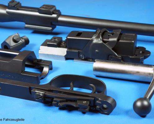 Mauser Lauf und System in Graphite Black beschichten