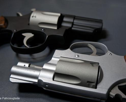 Revolver zweifarbig beschichten