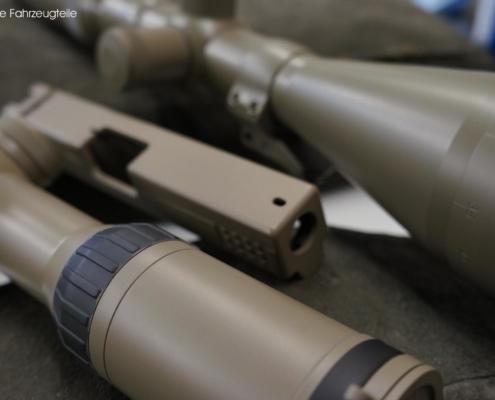 Zielfernrohr und Optiken mit Keramik beschichten