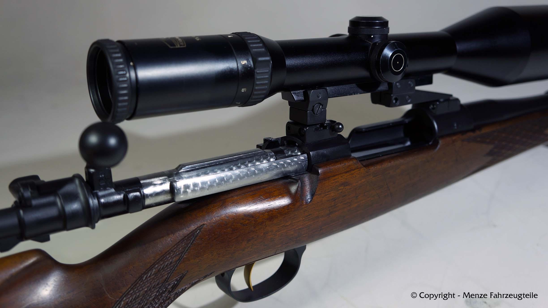 Mauser System, Lauf und Kammerstengel in Graphite Black