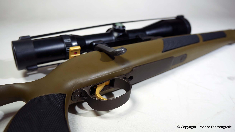 Waffenbeschichtung eines Mauser K98 in Burnt Bronze