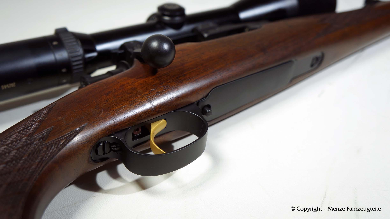 Mauser K98 in Graphite Black und Gold beschichten