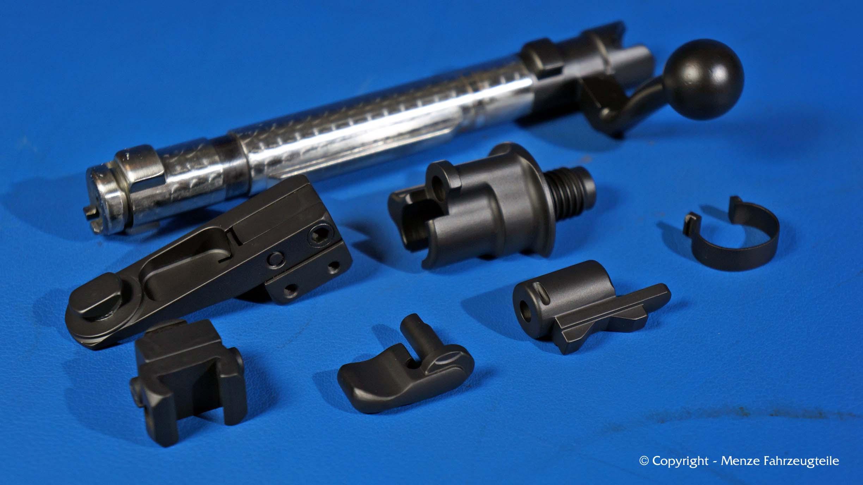 Mauser K98 Waffenbeschichtung von Kleinteilen