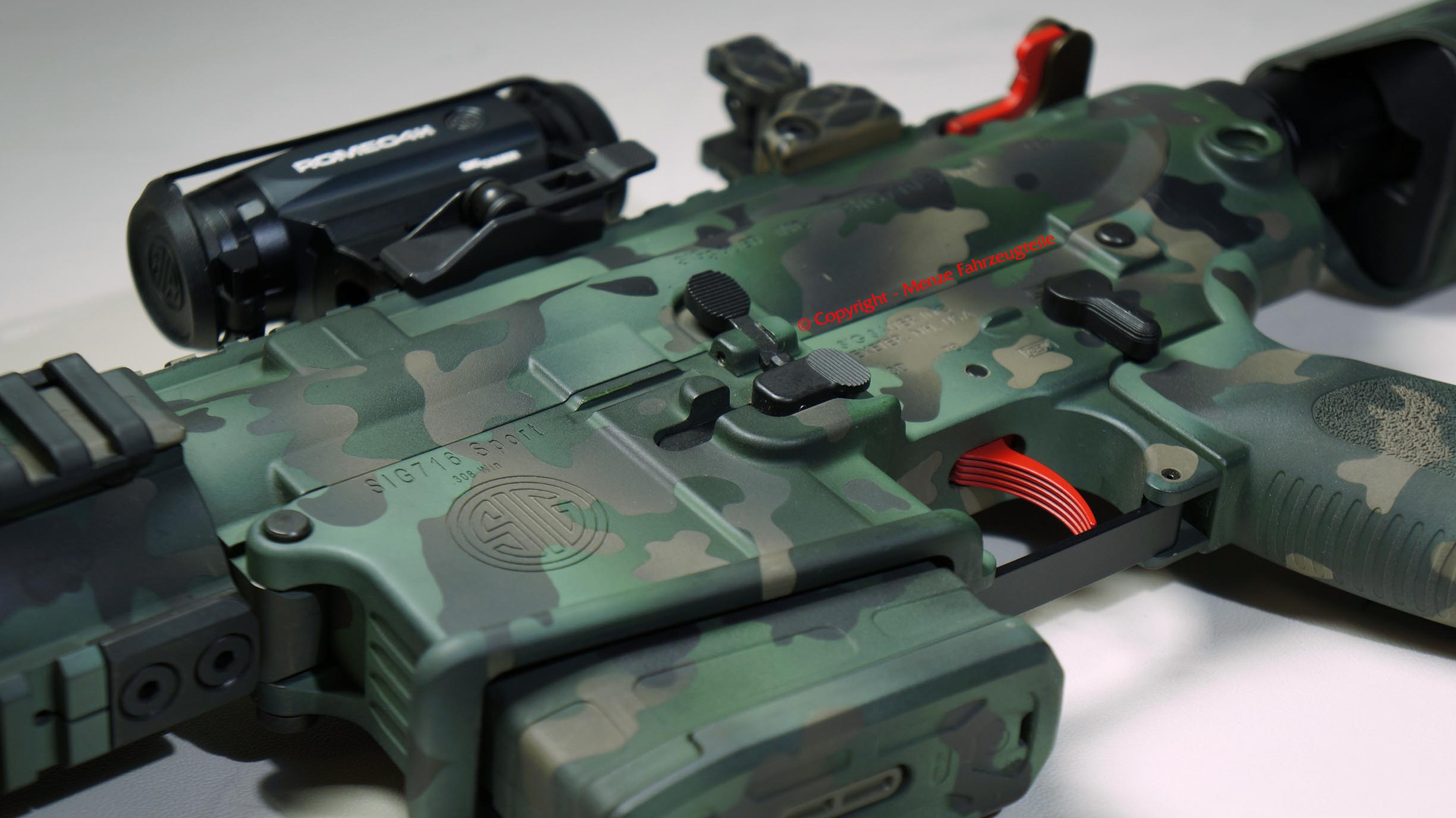 AR10/ AR15 in Camouflage lackieren