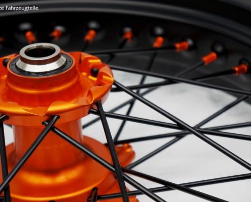 KTM Speichenfelge pulverbeschichten